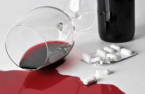 Алкоголь может значительно усилить побочные эффекты от приема препарата