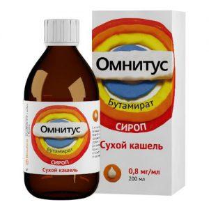 Детям дозировку сиропа Омнитус должен устанавливать врач, в зависимости от массы тела ребенка
