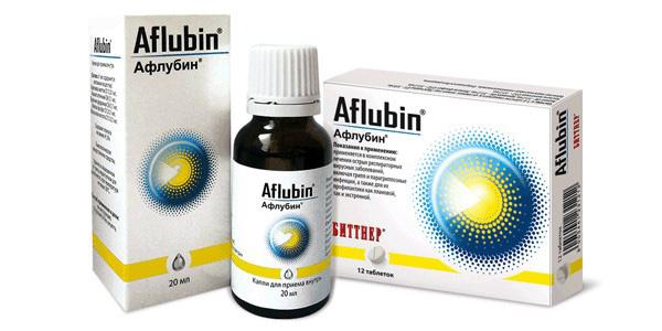 При вирусных или инфекционных заболеваниях, таких как грипп или простуда, зачастую применяют Афлубин, который является гомеопатическим средством