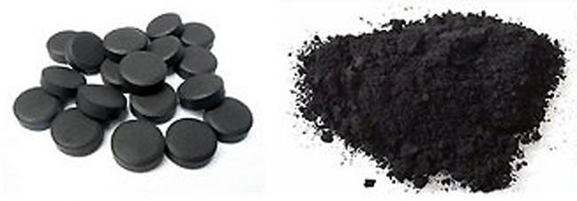 Препарат выпускают в форме таблеток и порошка, Активированный уголь очищает организм от шлаков и токсических веществ