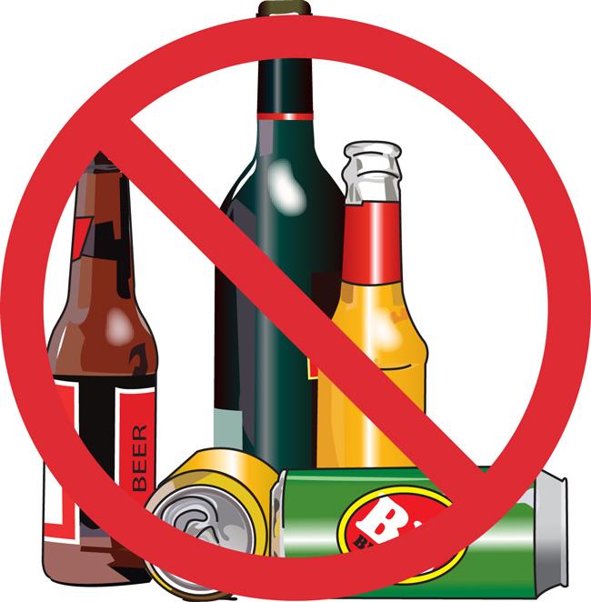 При болях в желудке из рациона исключают алкогольные напитки