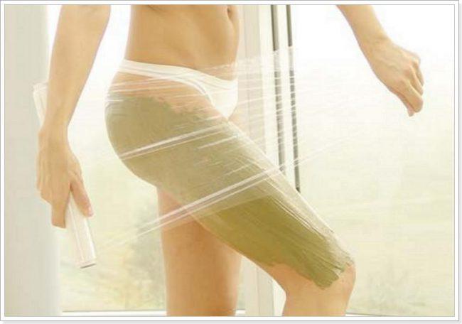 Домашние обертывания дают высокий результат в борьбе с целлюлитом.