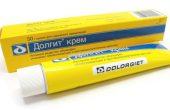 Долгит (крем, мазь) — когда эффективен препарат? Особенности применения, инструкция