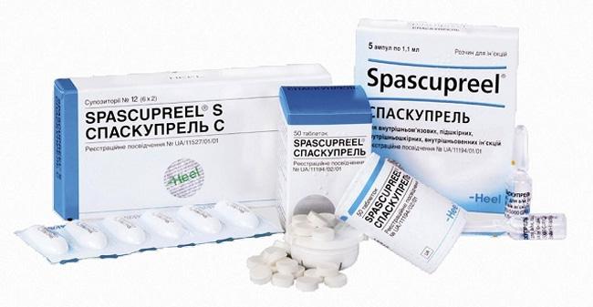 Спаскупрель гомеопатический препарат, обладающий спазмолитическим действием