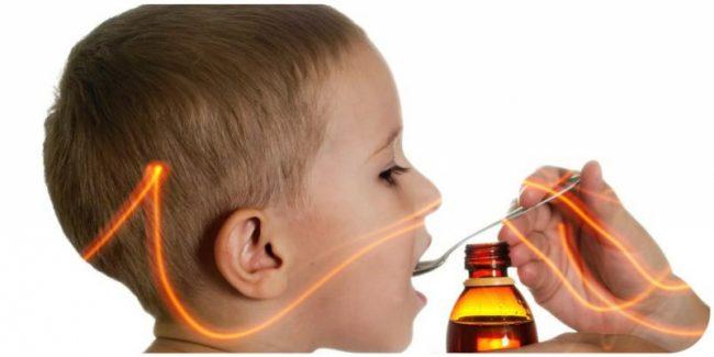 Препарат применяют для устранения болевого синдрома различной локализации, в том числе при зубной боли и боли при прорезывании зубов. Кроме того, препарат применяют для снижения повышенной температуры тела при детских инфекциях