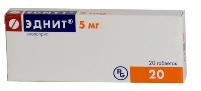Не рекомендуется назначение препарата Эднит® детям до 6 лет и детям при снижении скорости клубочковой фильтрации