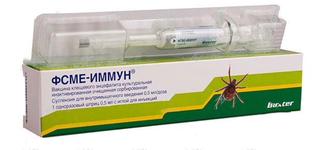После второй вакцинации ФСМЕ-Иммун Инжект 90% вакцинированных лиц в течение года обладают специфическим иммунитетом против клещевого энцефалита, продолжительность иммунной защиты после 3-х кратного введения вакцины составляет 3 года