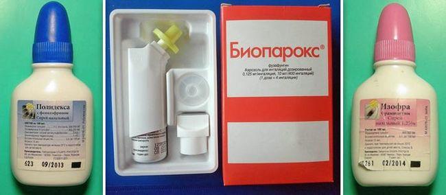 Биопарокс - один из лучших препаратов при фронтите