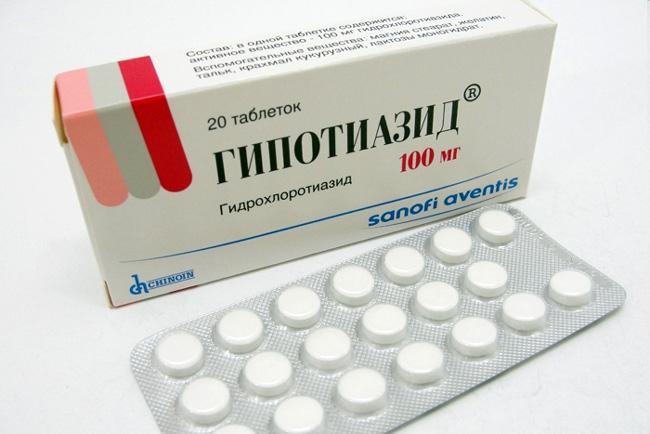 Гипотиазид - активное мочегонное и усиливающее выведение натрия и хлора средство