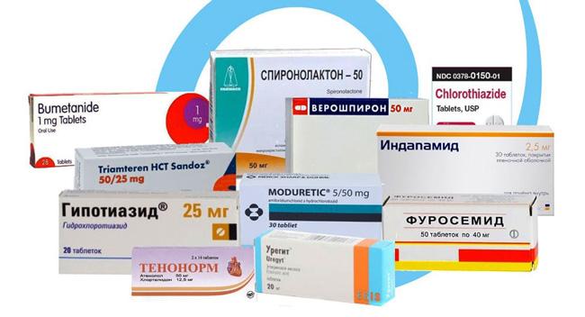 Популярные мочегонные средства