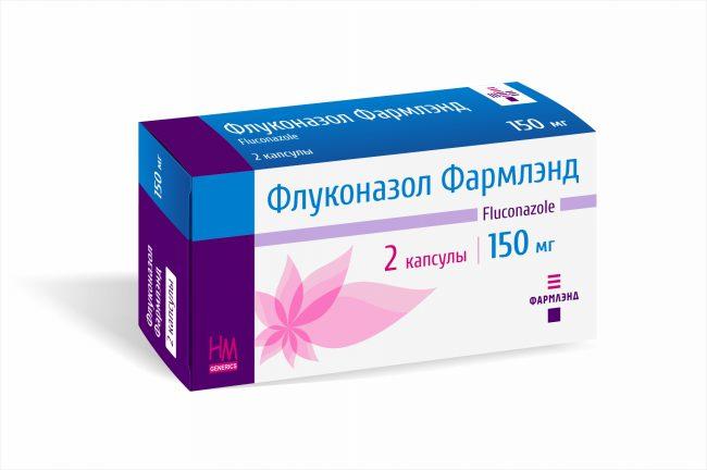 Флуконазол. Назначают по 1 таблетке раз в 2 дня. Препарат комплексно воздействует на споры и клетки различных патогенных грибов.