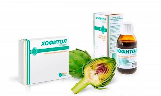 Лечебный эффект препарата Хофитол обусловлен комплексом входящих в состав листьев артишока полевого и биологически активных веществ, препарат обладает желчегонным действием и увеличивает диурез