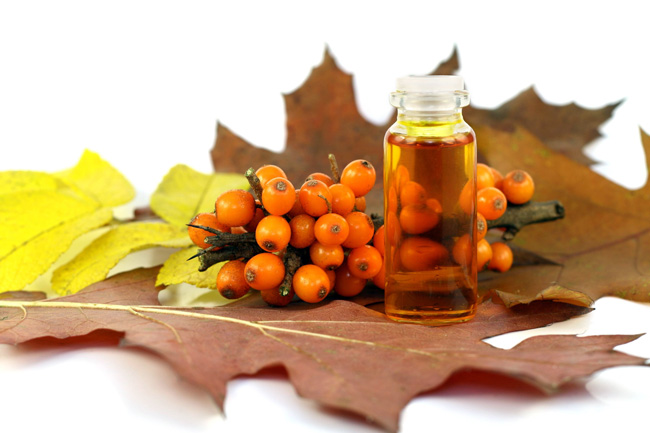 Народная медицина располагает широким набором средств от храма, одно из самых известных средств - облепиховое масло