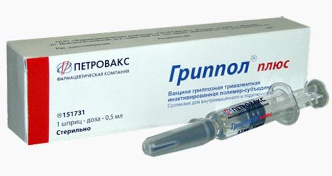 Гриппол Плюс – российская противогриппозная вакцина, формирующая иммунитет к вирусам гриппа A и B. Иммунный ответ образуется на 8-12 день после прививки и сохраняется до 1 года у пациентов любого возраста
