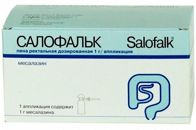 Салофальк снимает воспаление слизистой оболочки и обладает антиоксидантными свойствами, а при регулярном приеме значительно улучшает состояние пациента и позволяет избежать рецидивов этого заболевания
