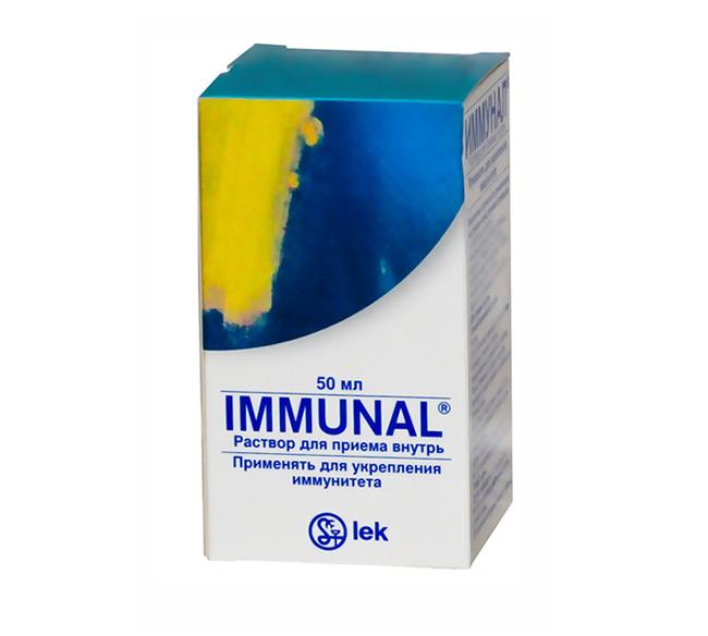 Иммунал - растительный препарат, обладающий иммуностимулирующими свойствами, который способен уничтожать патогенные микроорганизмы и некоторые вирусы
