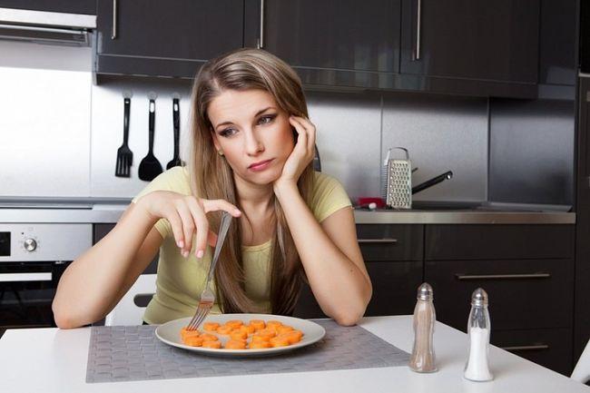 У пациентов с повышенной кислотностью желудка часто наблюдается плохой аппетит