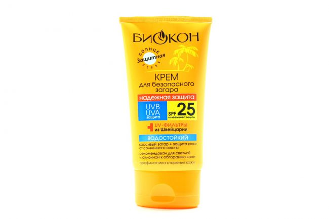 Биокон продлевает время безопасного пребывания на солнце, препятствует развитию заболеваний кожи, вызванных