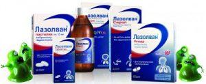 Препарат Лазолван выпускают в различных формах и дозировках, по этому врач сможет подобрать для вас оптимальный вариант и дозировку