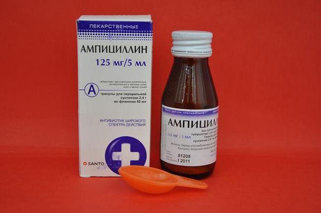 Ампинициллин - действенное средство для нормализации лейкоцитов в моче