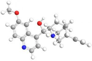 Химическая структура препарата Лоперамид