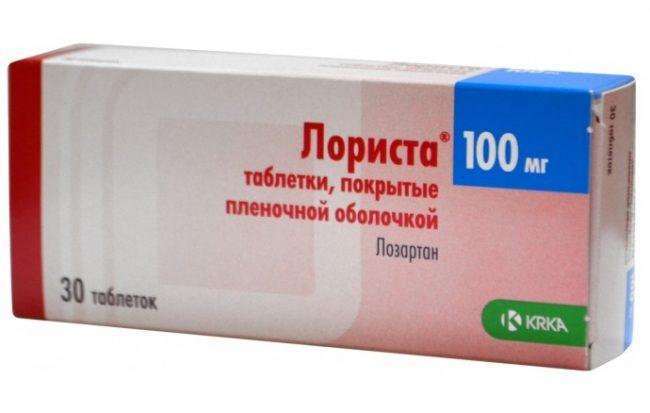 Лористу можно применять в сочетании с другими антигипертензивными препаратами, особенно диуретиками (например гидрохлоротиазидом)