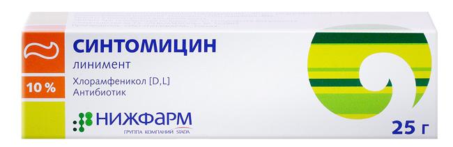 Мазь Синтомицин, это недорогой аналог Банеоцина, препарат нельзя применять беременным и кормящим женщинам, а также для лечения детей младше 1 месяца