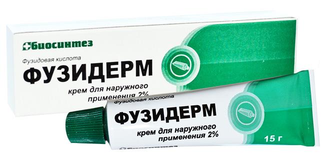 Фузидерм - антимикробное средство местного действия
