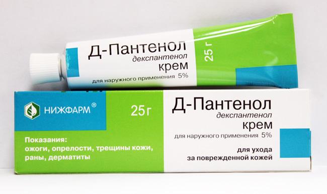 Декспантенол — вспомогательный препарат, способствующий быстрой регенерации поврежденной кожи. Применяется в дополнение к основной терапии