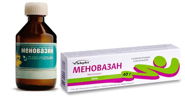 Препарат выпускают в форме мази белого цвета с храрактерным запахом ментола и прозрачного бесцветного раствора с ментоловым запахом