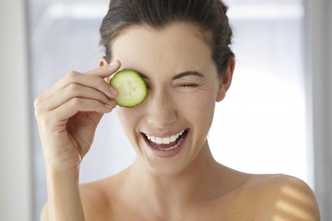 Маска из огурцов - отличное средство для красивой кожи