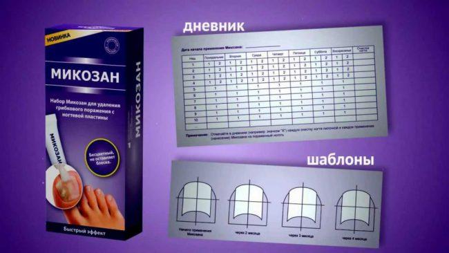 Микозан представляет собой средство, предназначенное для профилактики и терапии микозного (грибкового) поражения ногтевой пластины