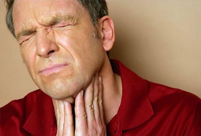 Нейтрофилию может вызвать ангина