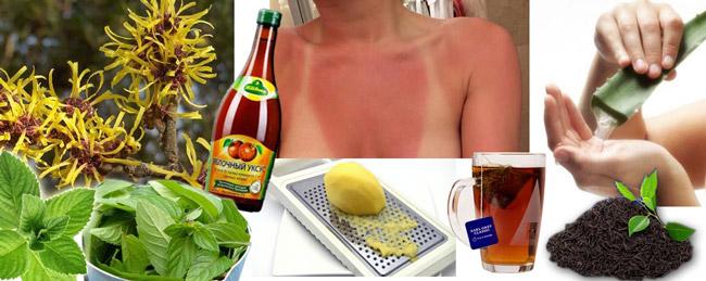 При проявлении первых признаков солнечного ожога, необходимо в сразу уйти в тень и принять меры к минимизации последствий ожога