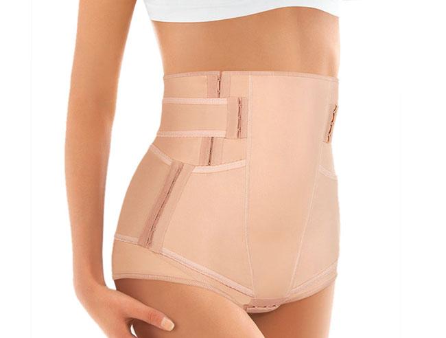 Бандаж помогает мышцам поддерживать внутренние органы и препятствует их смещению