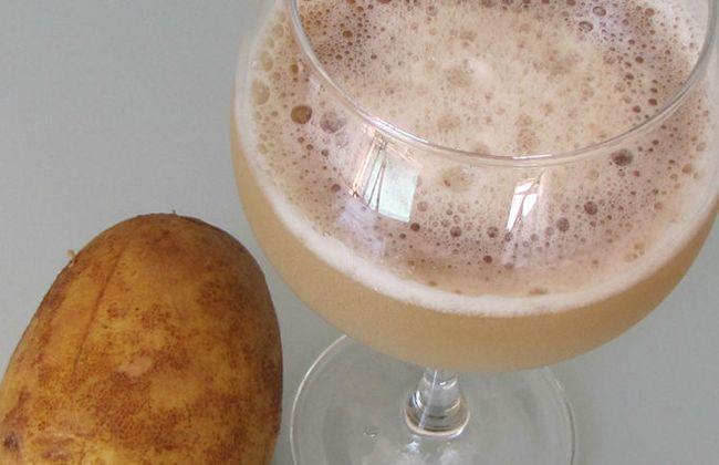 Картофельный сок способен помочь вылечить хронический панкреатит