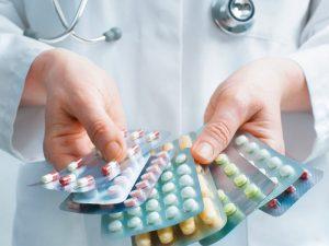 Список лекарств напрямую зависит от типа и степени развития патологии