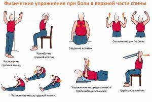 Физические упражнения - это также важная часть при лечении и профилактике боли в спине