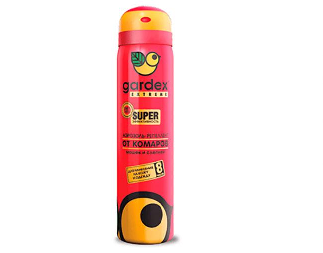 Защитное средство Gardex Extreme часто используется профессиональными спортсменами, поскольку его можно наносить не только на одежду, но и на снаряжение, чтобы окончательно обезопасить себя от насекомых