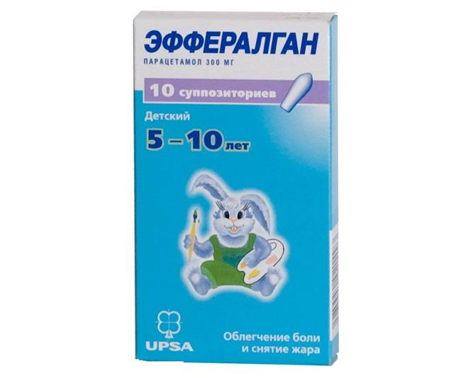 Эффералган – препарат на основе парацетамола, обладает противовоспалительным и жаропонижающим эффектом
