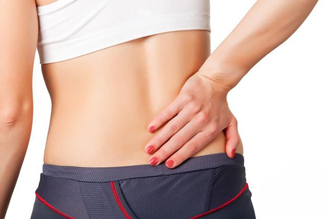 Болевой синдром в области копчика - результат травматических или механических повреждений