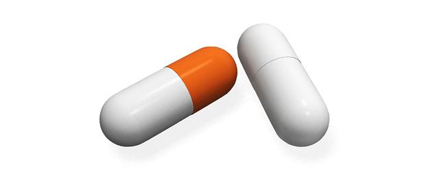 Урсодез выпускают в желатиновых капсулах двух видов - размер №0, капсулы белого цвета и размер №00, белый корпус с оранжевой крышечкой