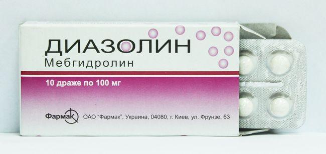 Диазолин поможет устранить аллергический зуд в ушах