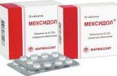Таблетки Мексидол – инструкция, аналоги, особенности применения