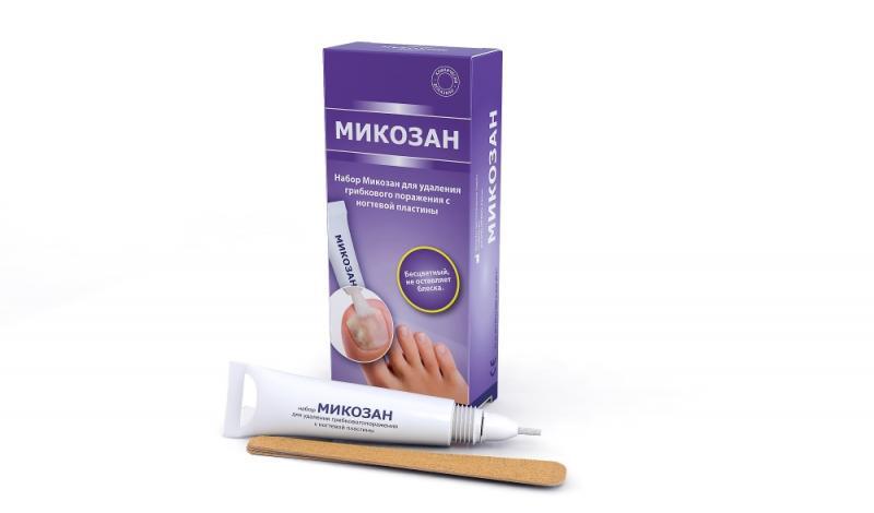 Микозан отлично показывает себя и как лечебное, и как терапевтическое средство