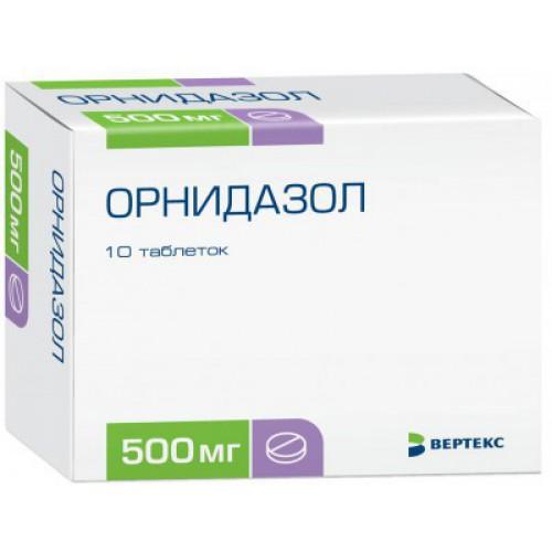 Орнидазол – лекарственное средство, обладающее антибактериальным и противопротозойным действием