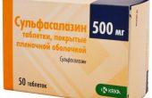 Когда эффективен Сульфасалазин и как правильно его принимать?