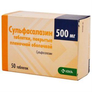 Сульфасалазин применяют в гастроэнтерологии, для лечения суставных патологий, приобрести препарат можно по рецепту врача