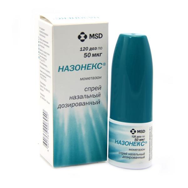 Спрей Назонекс - противоаллергический и противовоспалительный препарат, использующий для лечения сезонной аллергии и хронических синуситов