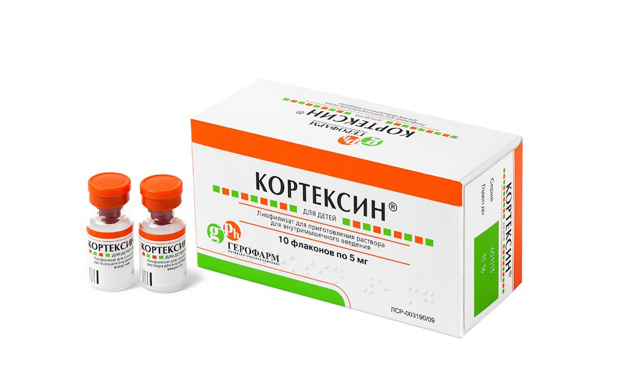 Кортексин улучшает процесс обмена веществ в структурах головного мозга, и за счет этого оказывает церебропротективное, ноотропное, противосудорожное и антиоксидантное действие на ЦНС
